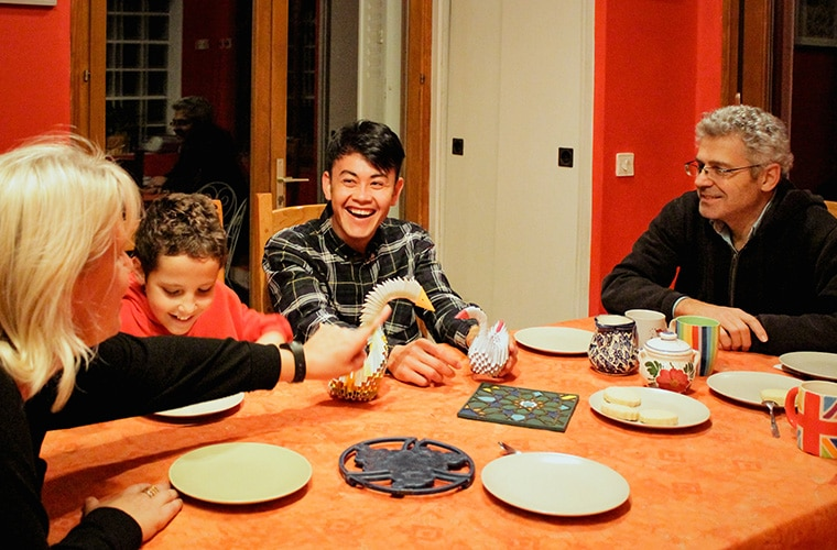 JRS Paris - accueil famille repas