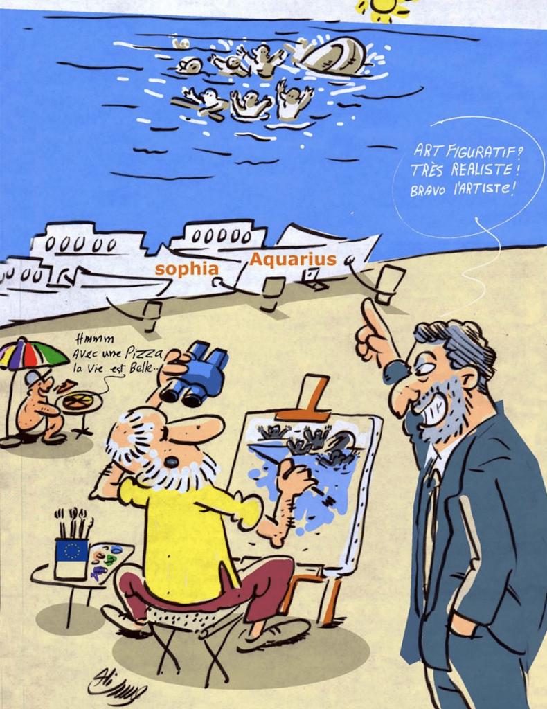 Avril 2019 : «Retrait des navires de sauvetage »