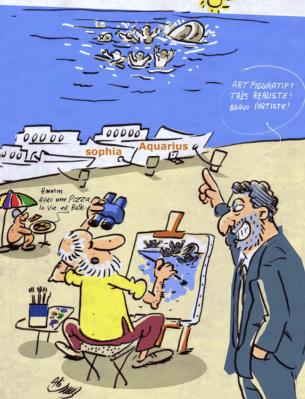 Avril 2019 : « Retrait des navires de sauvetage »