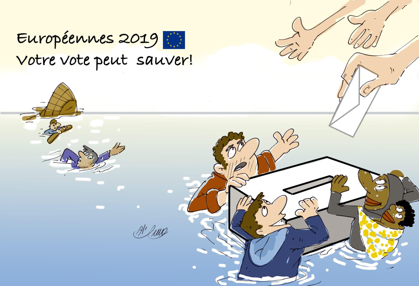 Mai 2019 : « Européennes 2019 : Votre vote peut sauver » #ThePowerOfVote