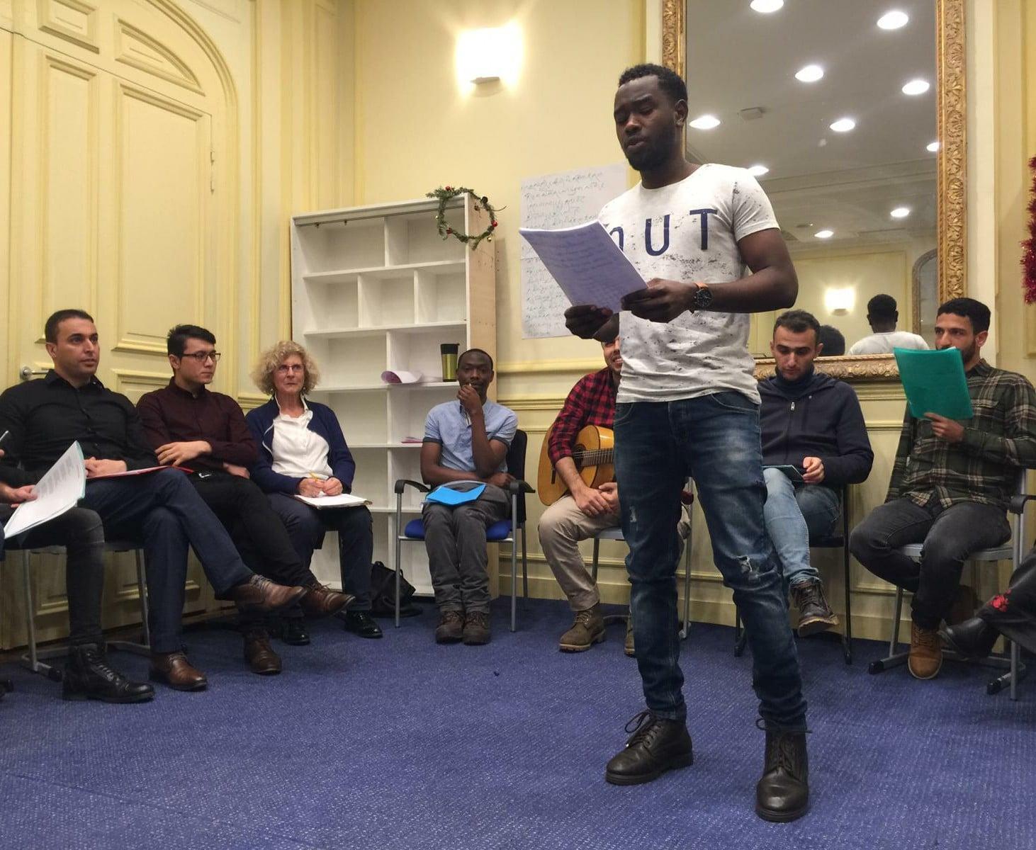 Soirée poésie à JRS France